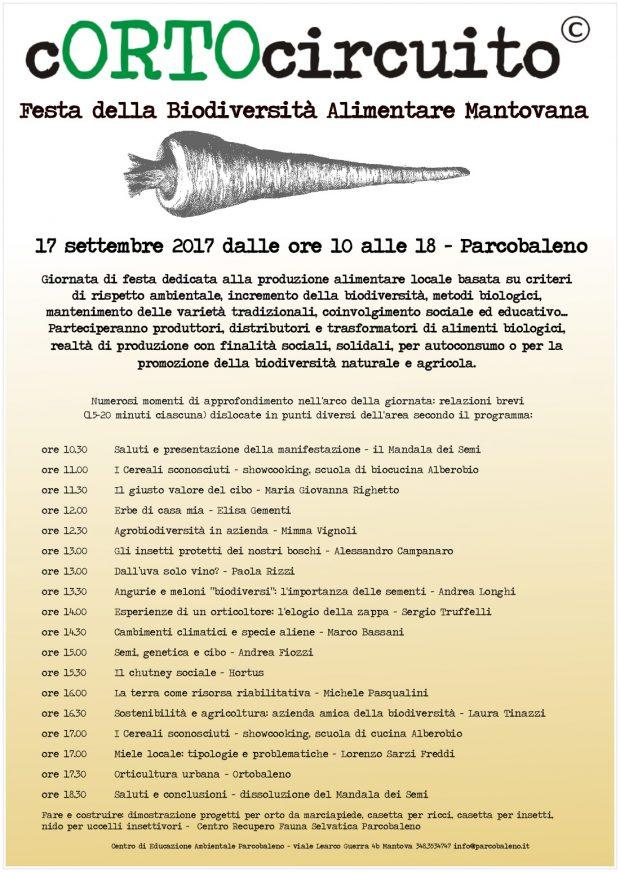 Festa della Biodiversità Alimentare Mantovana | 17 settembre 2017 dalle ore 10 alle 18 | Parcobaleno - Mantova