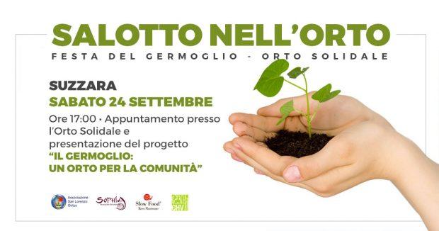 SALOTTO NELL'ORTO - Festa del GERMOGLIO - Orto Solidale di Suzzara - Sabato 24 settembre 2016